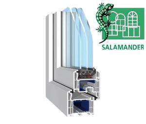 okna salamander Podkarpacie