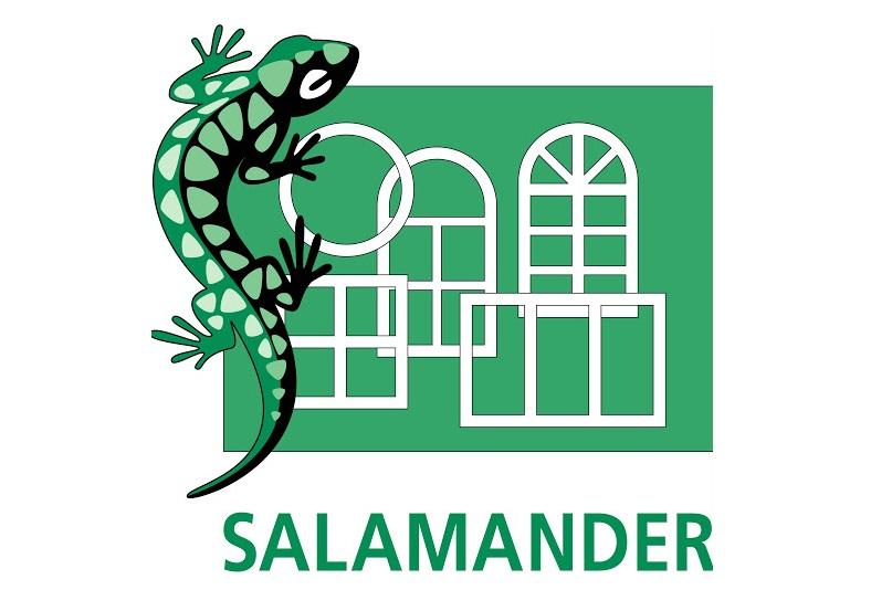 okna salamander rzeszów logo